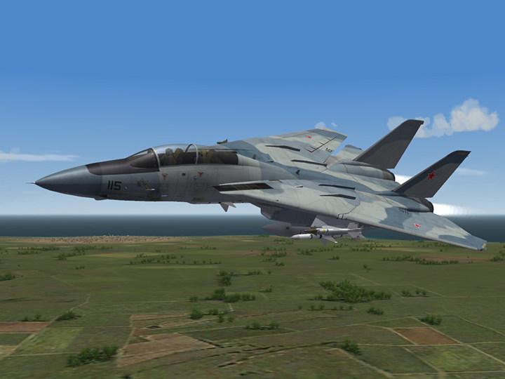 Aggressor Camo Skin for F-14A '77 (fictional)