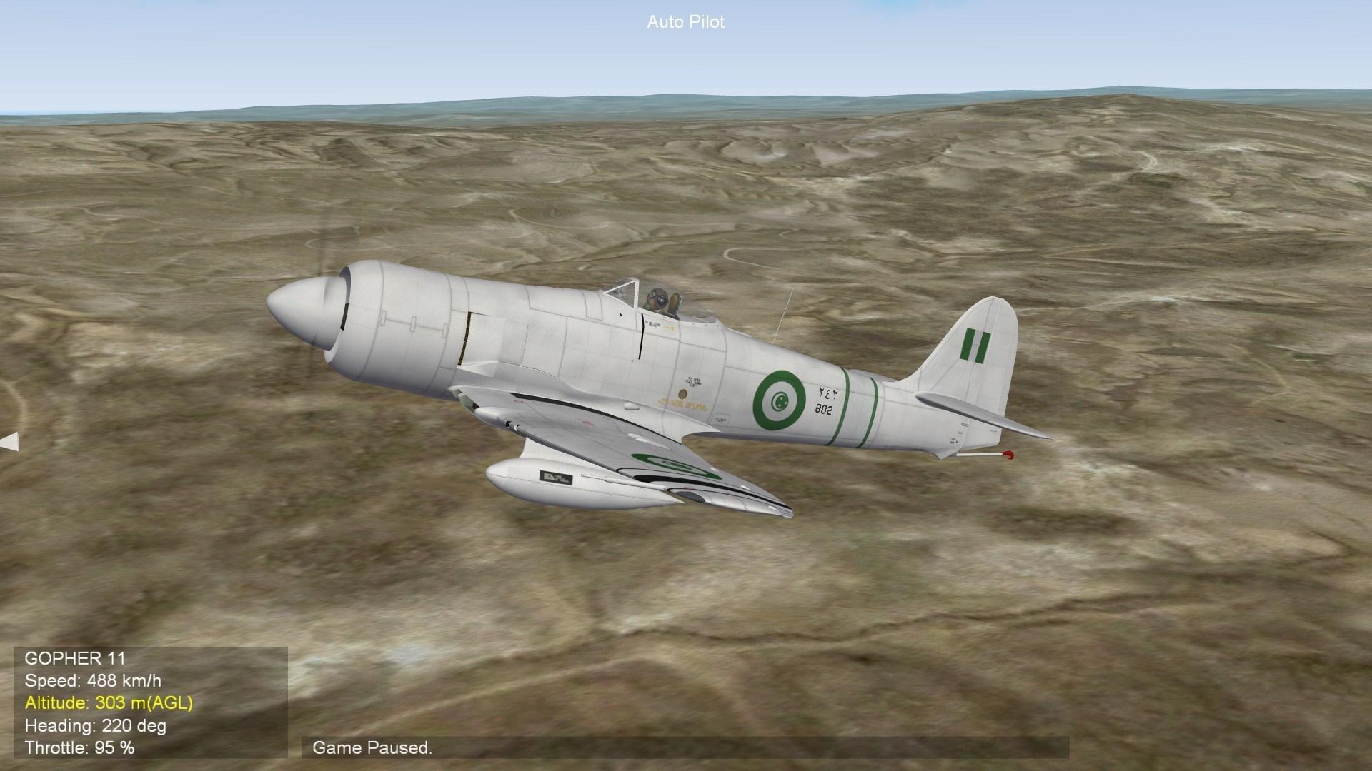 Hawker Sea Fury skin pack