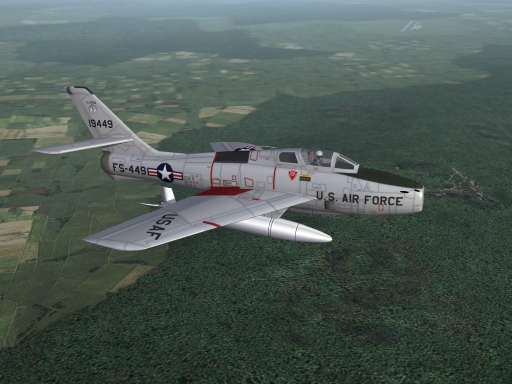F-84F 168th FBS, Illinois ANG