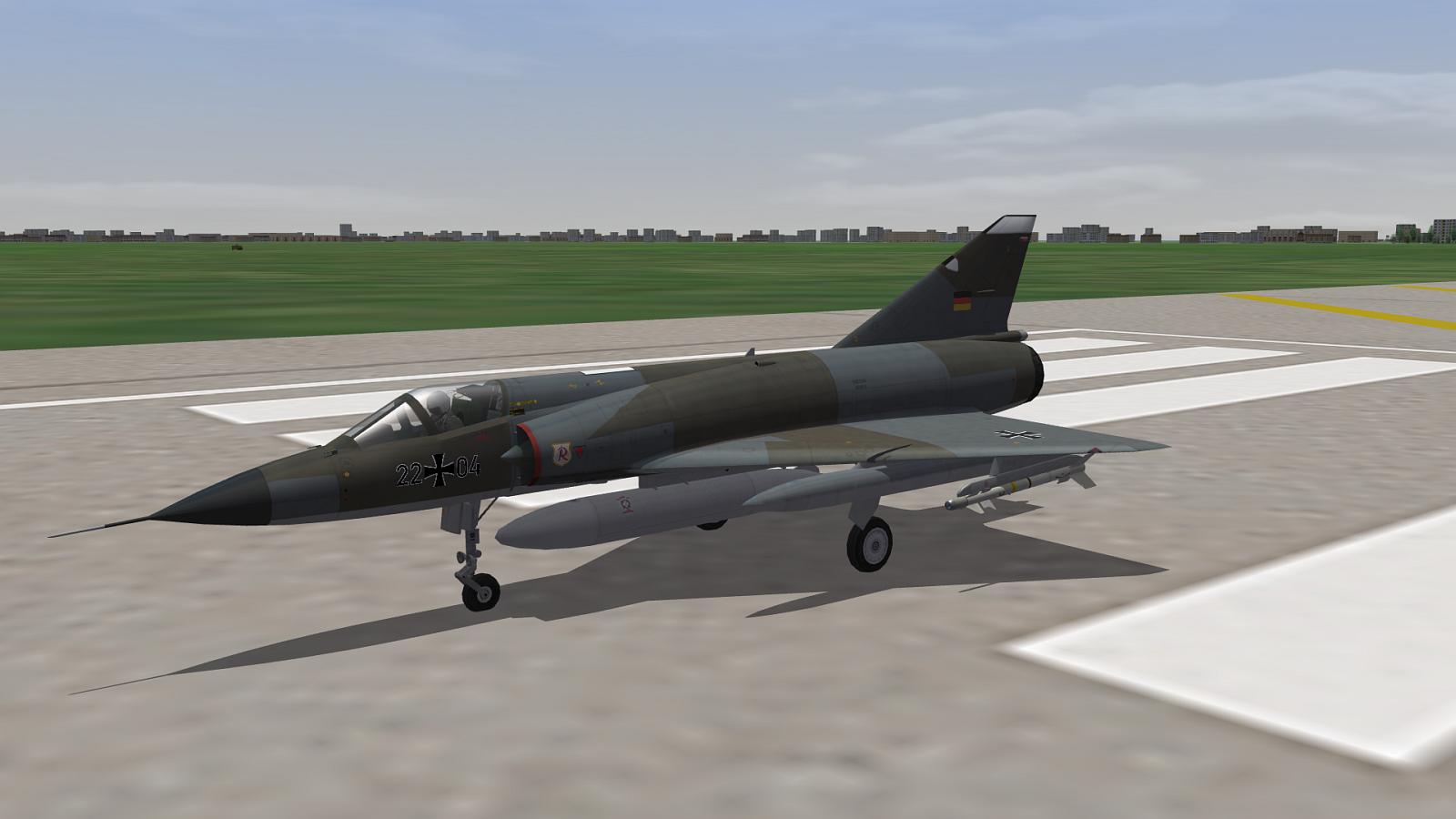 German Mirages IIIEG + 5G
