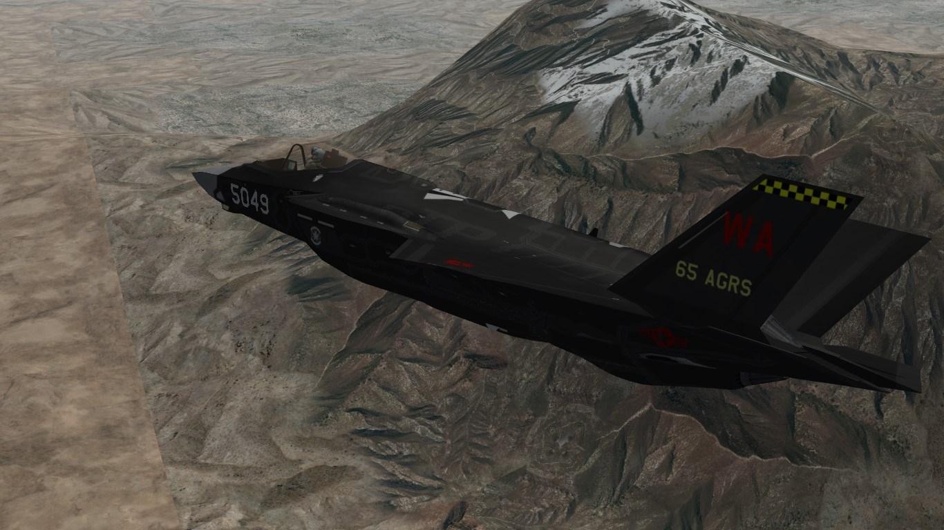 SF2 F-35 USAF 65th AGRS skin