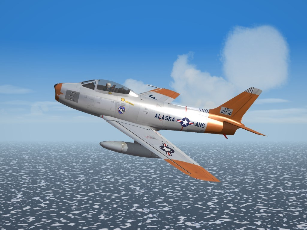 SF2 F-86E Sabre, 144th FIS, Alaska ANG Skin Pack