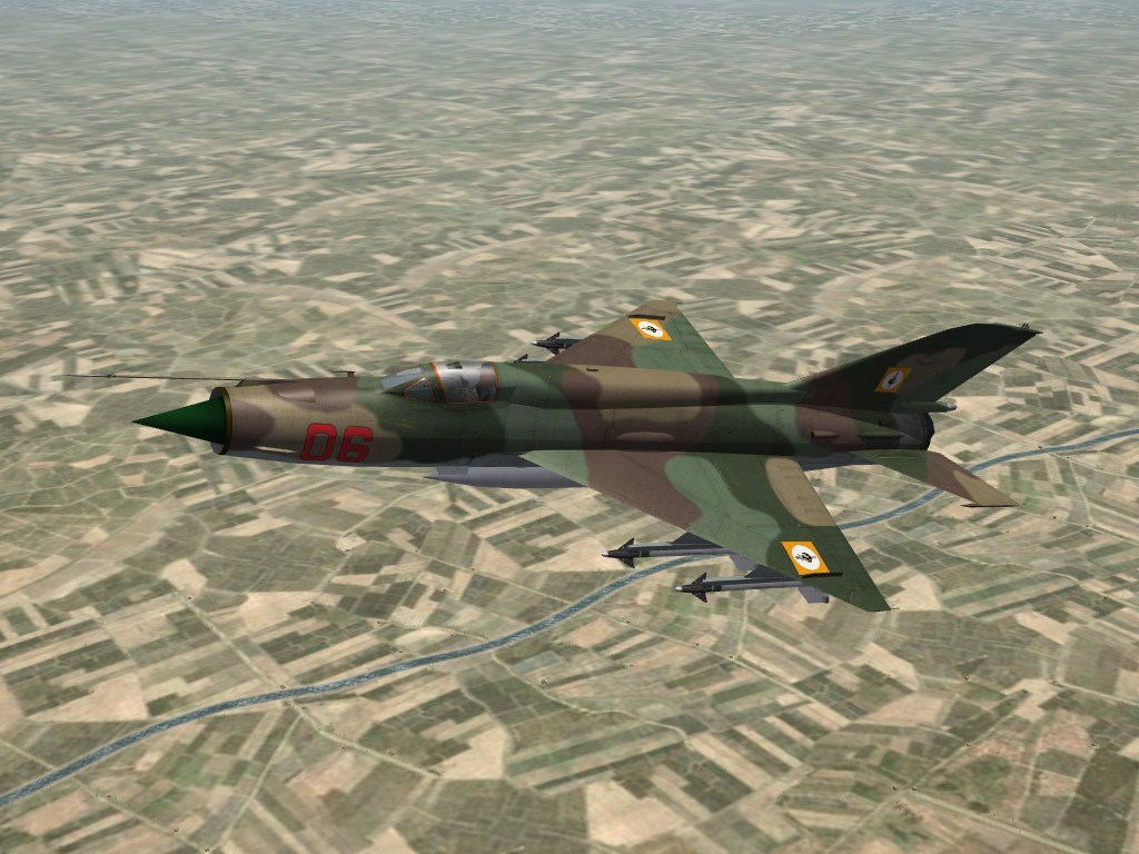 "MiG-21MF Fishbed-J ""Global Sedition"""