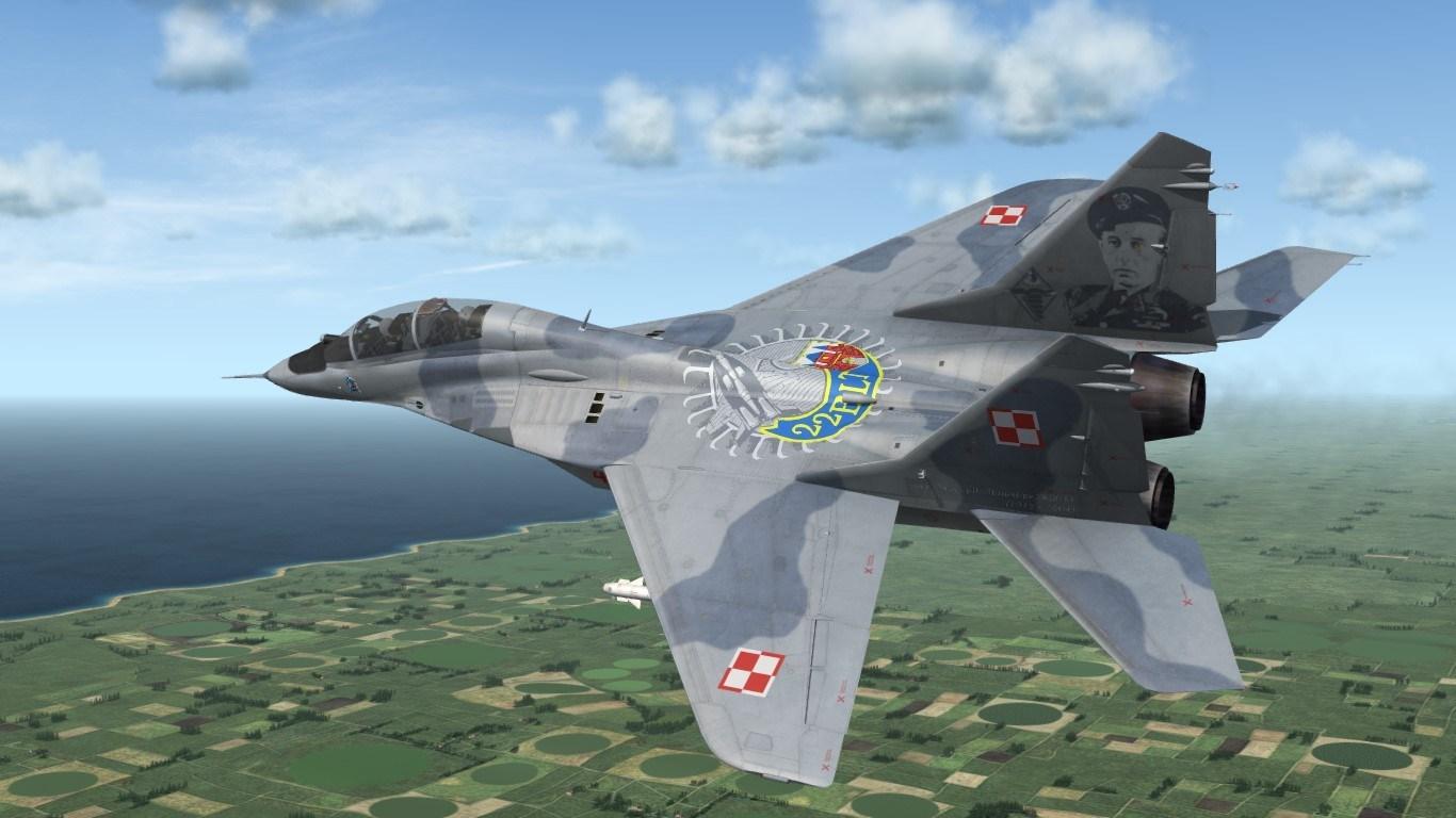 SF2 2015 Polish MiG-29GT 4105 skin