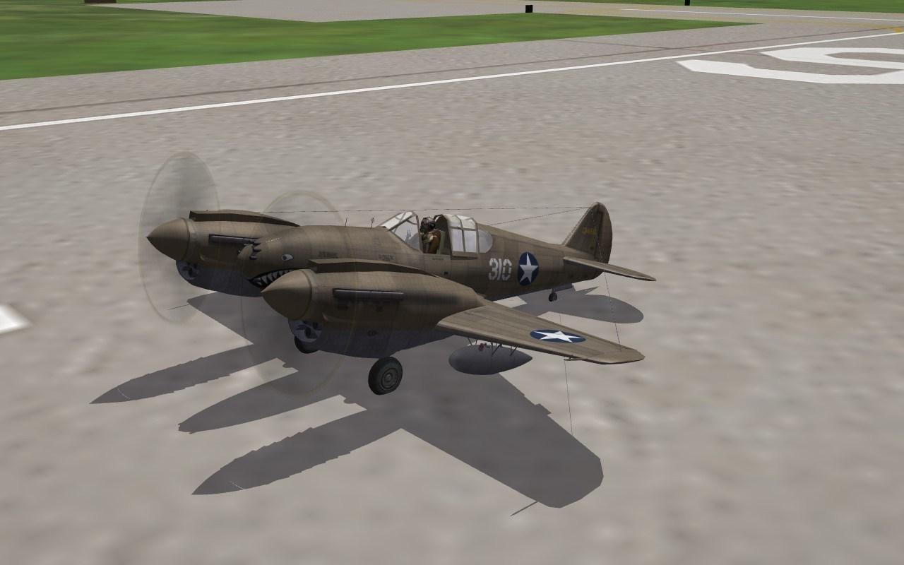 P-40T Twin WarHawk