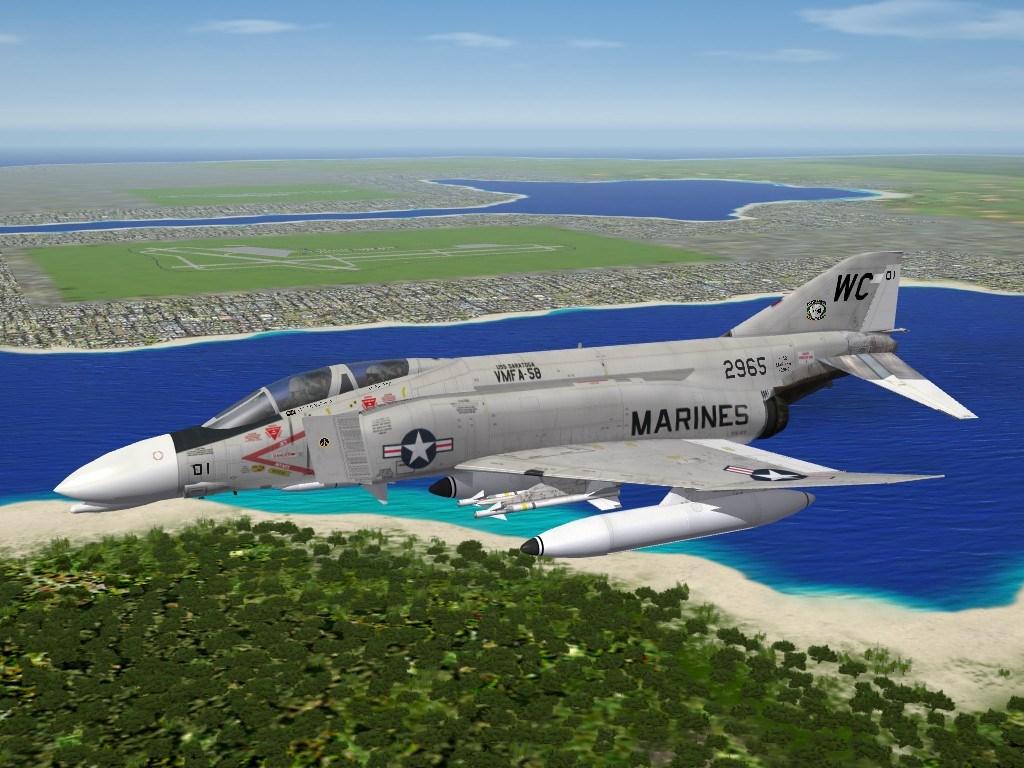 "F-4B Phantom II, VMFA-58 ""Wildcards"""