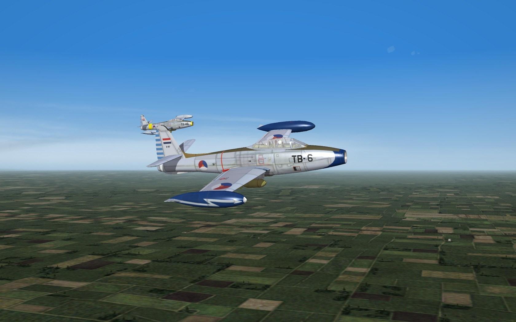 F-84E/G KLU Skin Pack