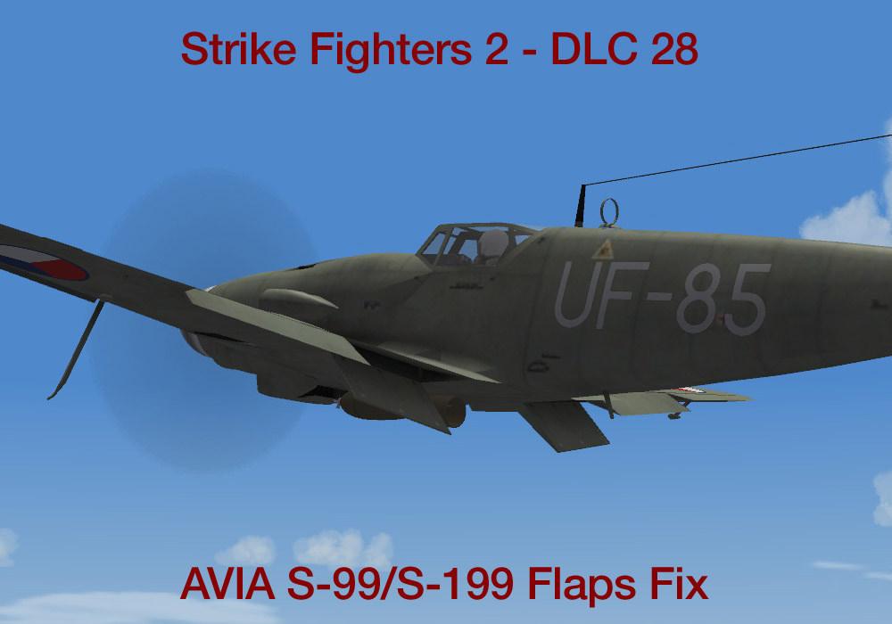 DLC 28: AVIA S-99/S-199 Flaps Fix