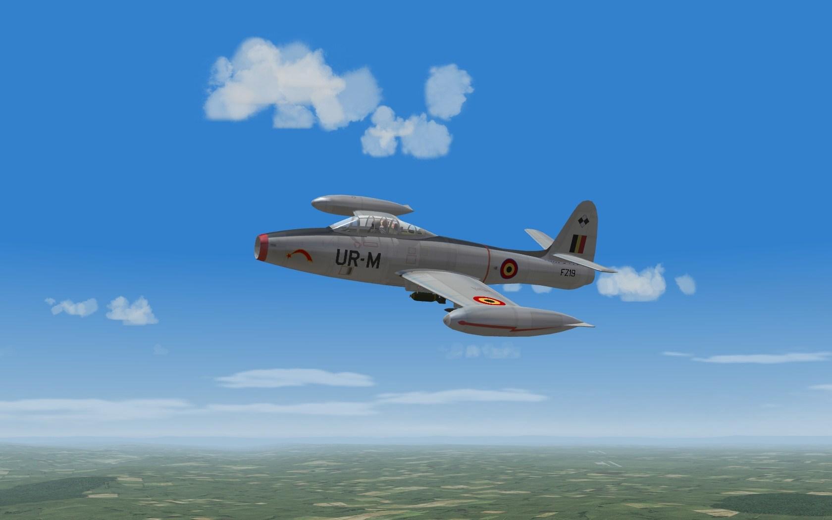 BAF F-84E/G Thunderjets