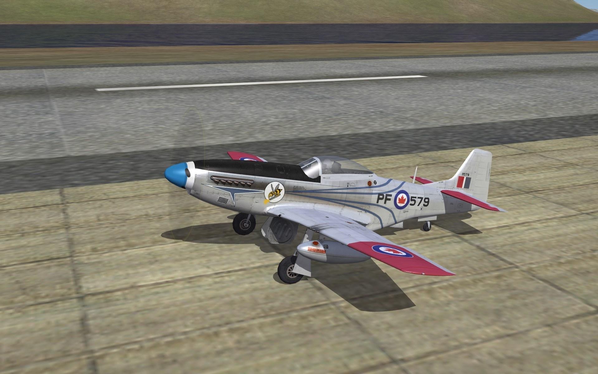 RCAF POST WAR P-51 Skin Pack