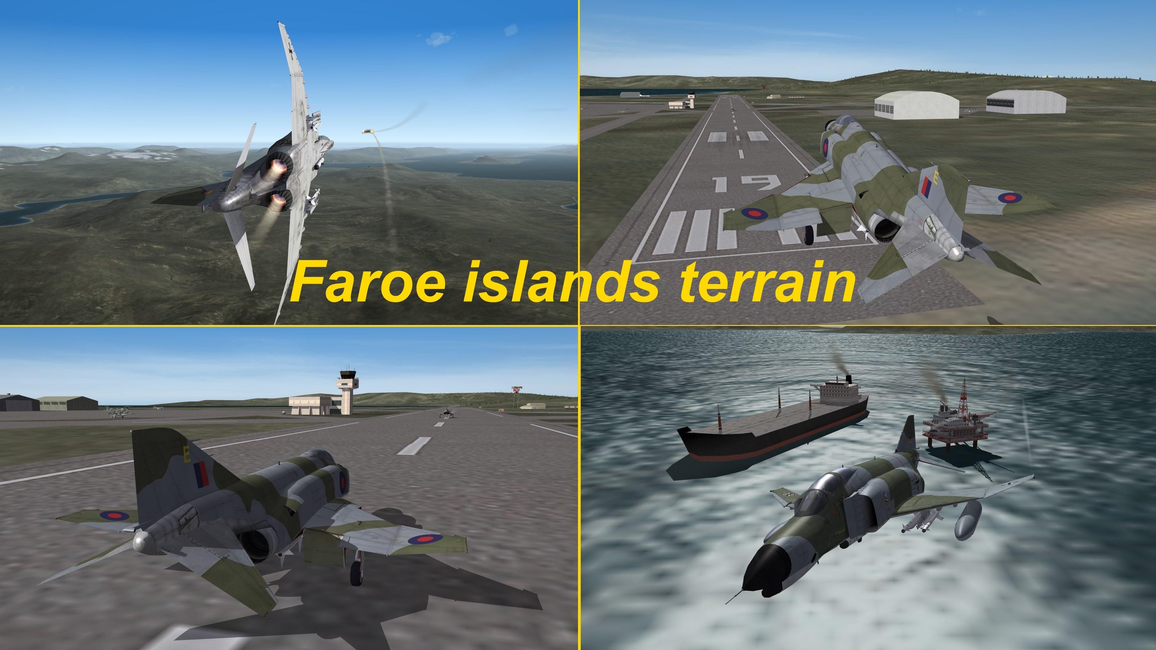 Faroe Islands terrain