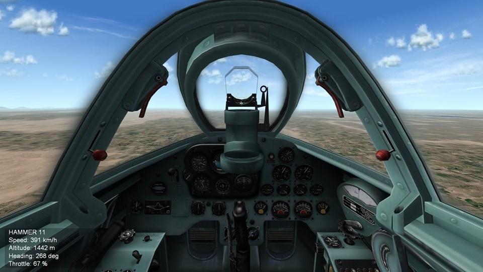"""Mig-9 """"Fargo"""" Cockpit"""