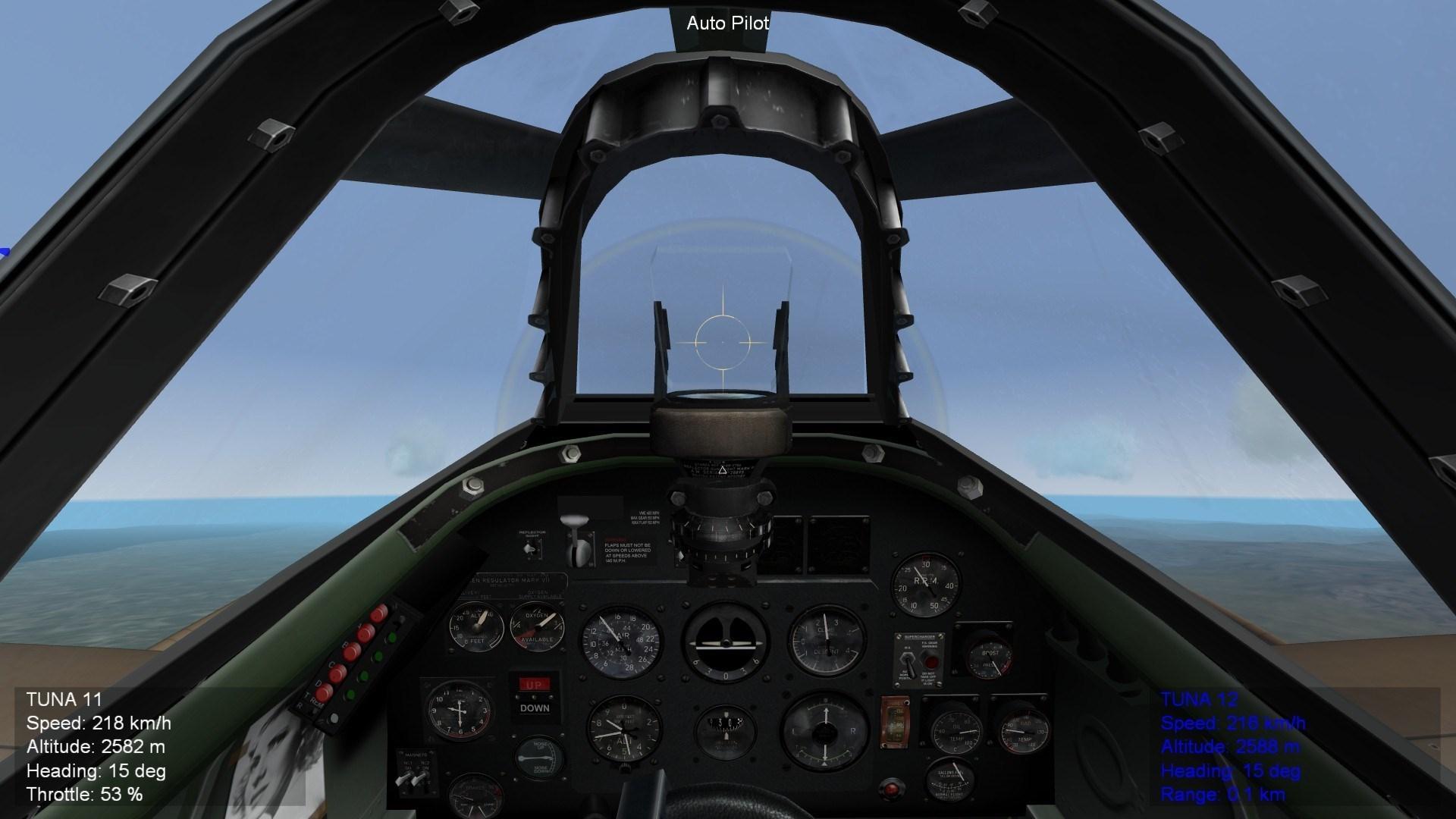 Spitfire 9e Cockpit