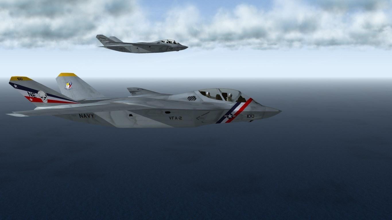 SF2 A/F-24 Shadowcat USN Skinpack 2 - Thirdwire: Strike