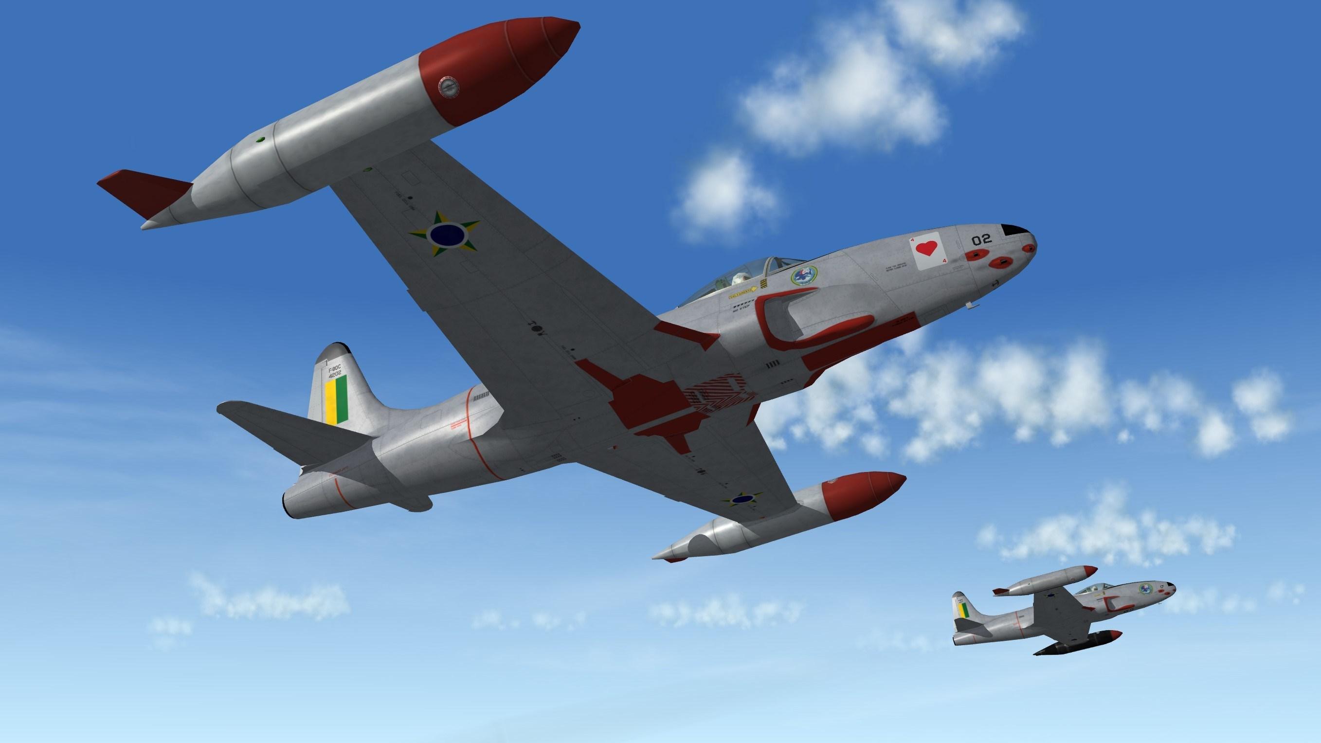 Lockheed F-80C Shooting Star - Export Workshop