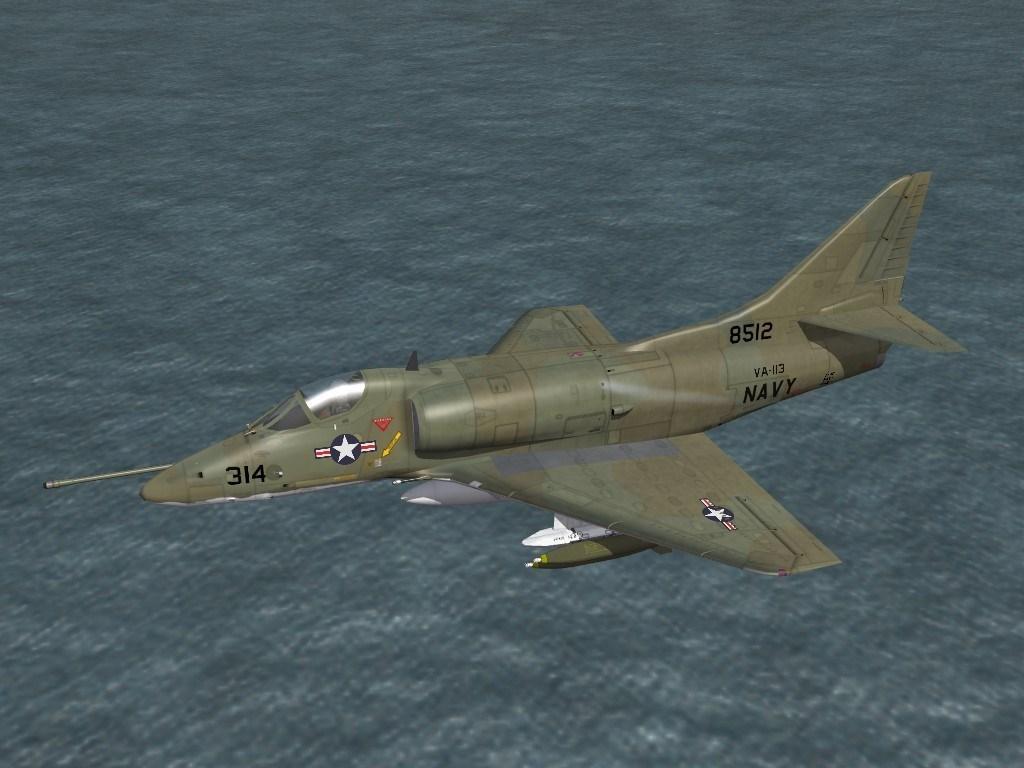 SF2 A-4C(65) VA-113 'Stingers' Camo Skin Pack