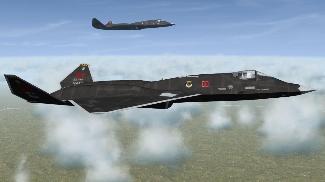 SF2 What-if F-23A Aggressor skins