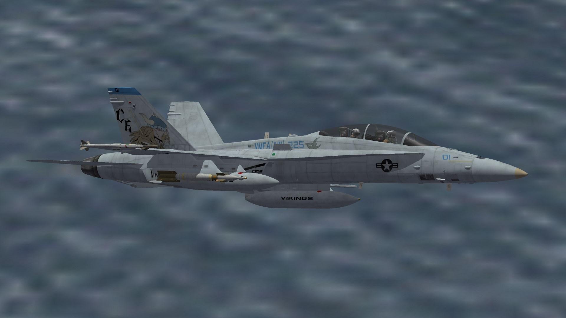 VMFA (AW) -225 F/A-18D skin