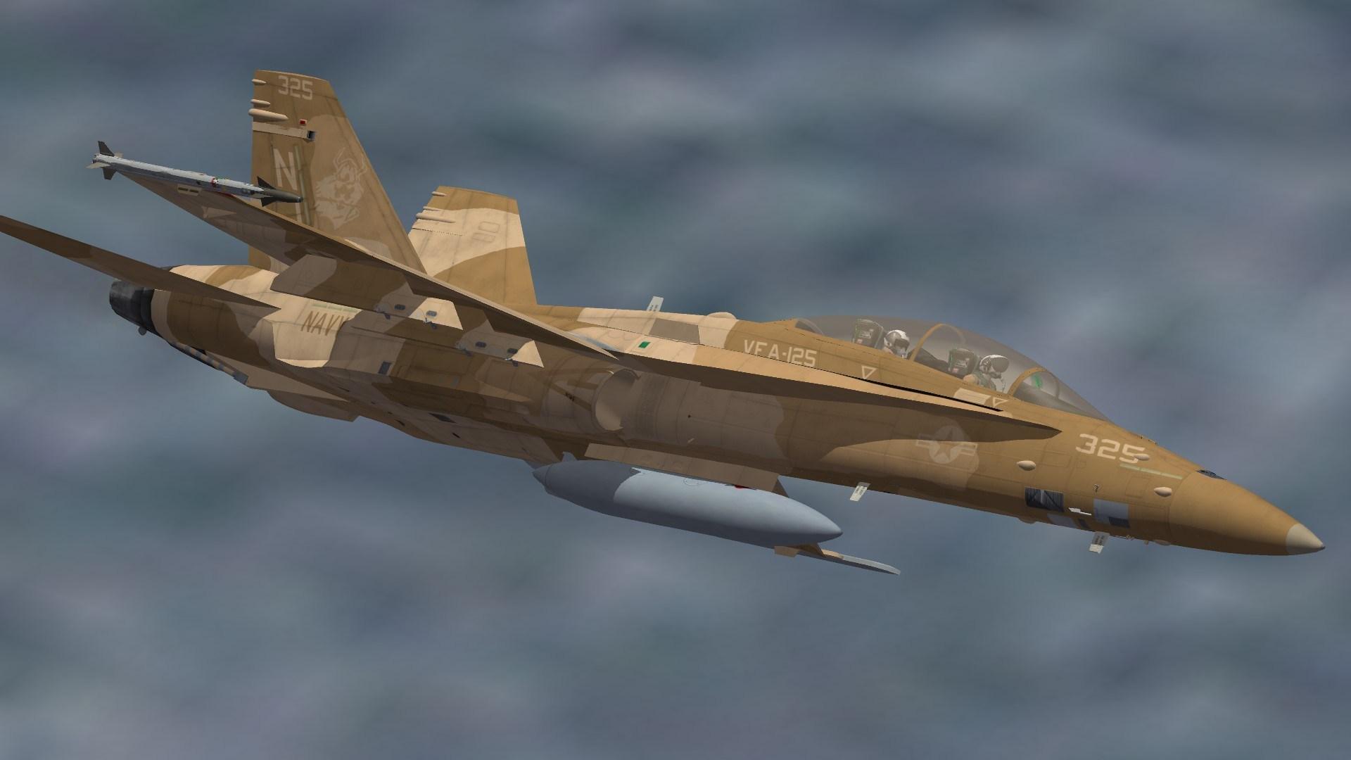 VFA-125 F/A-18D skin