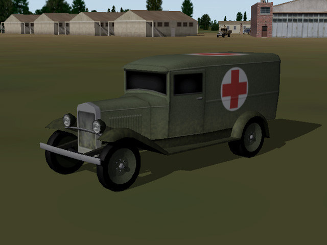 Spanish Civil War,  Airfield Vehicles