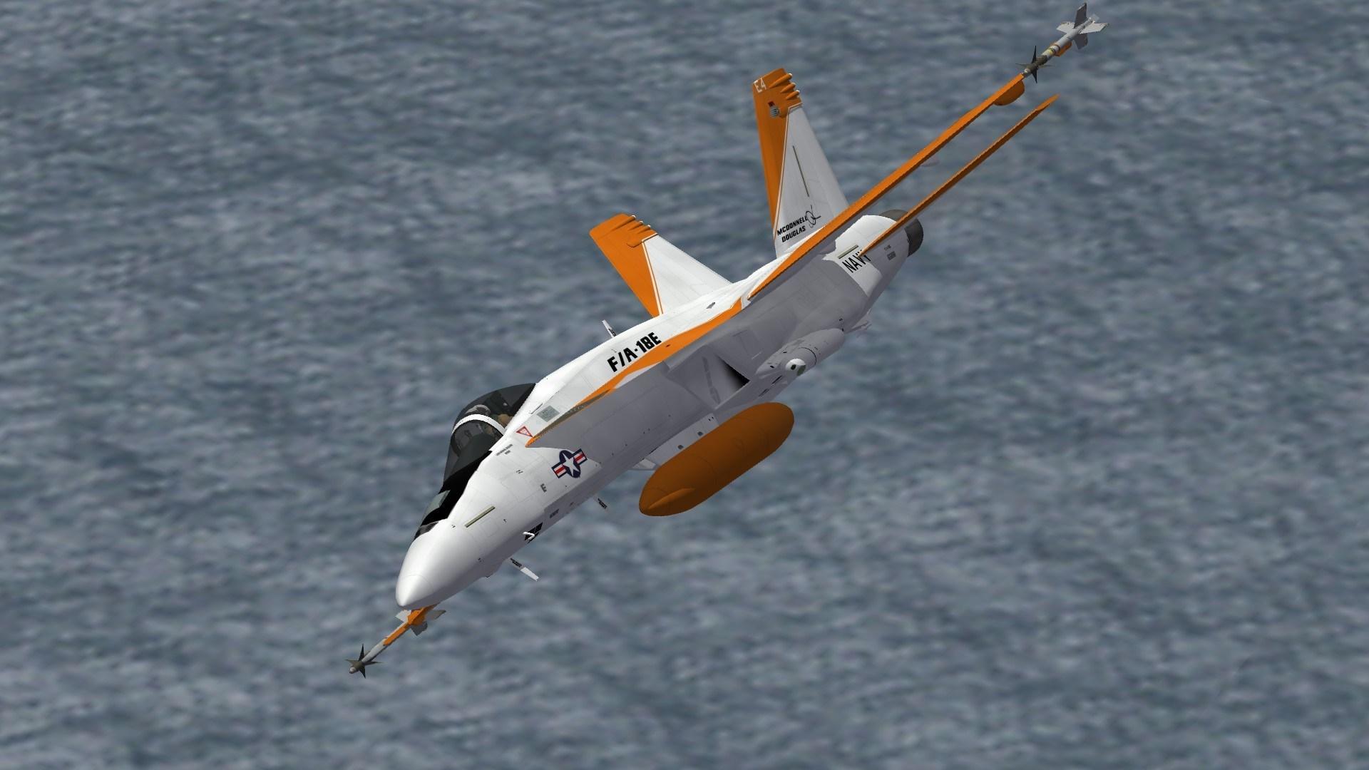 F/A-18E E4 Prototype