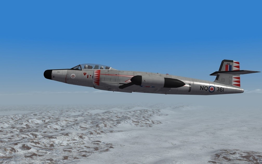 SF2 CF-100 MK-4A NORAD