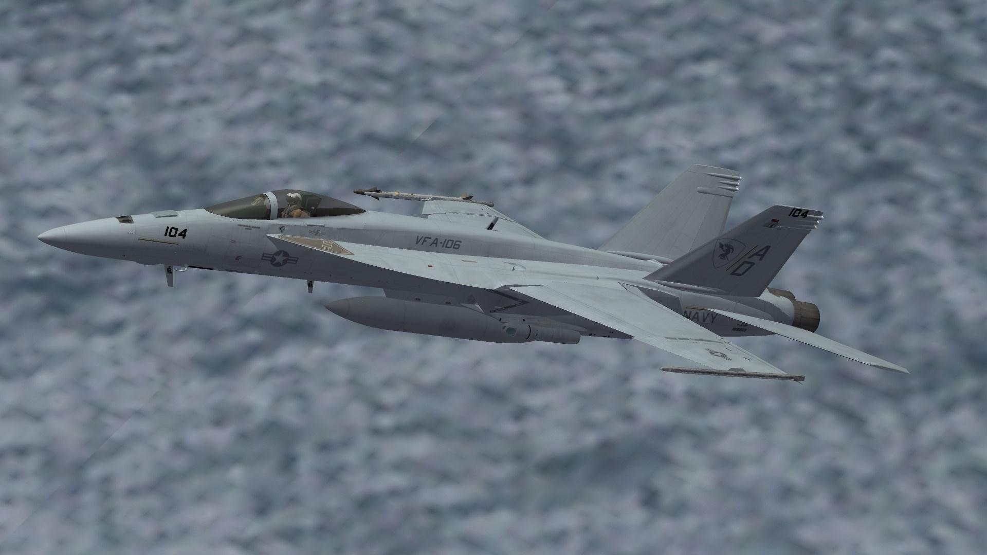 F/A-18E VFA-106 Line