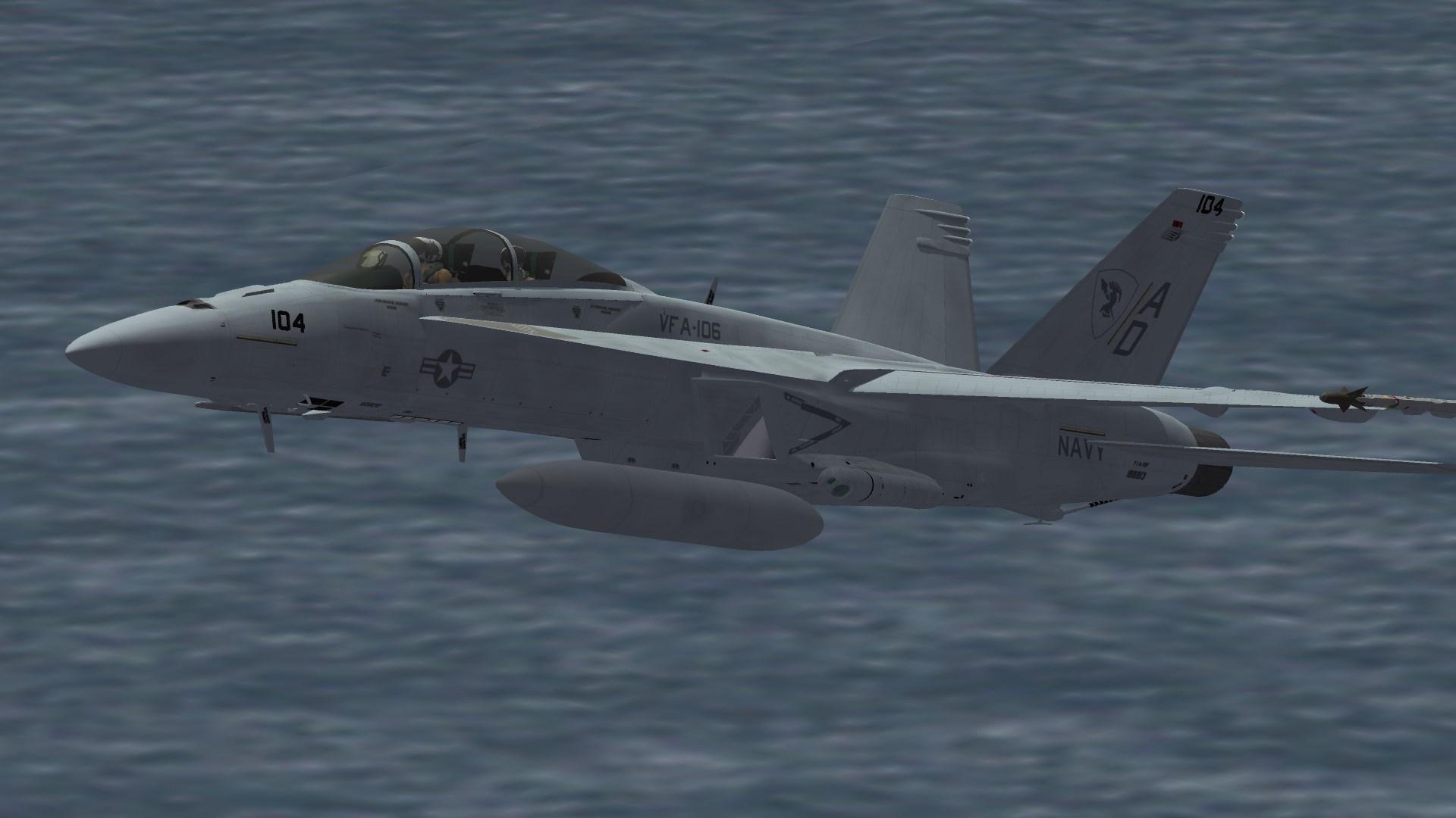F/A-18F VFA-106 Line