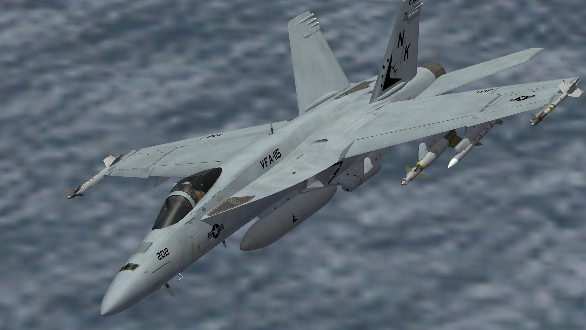 F/A-18E VFA-115 First Deployment