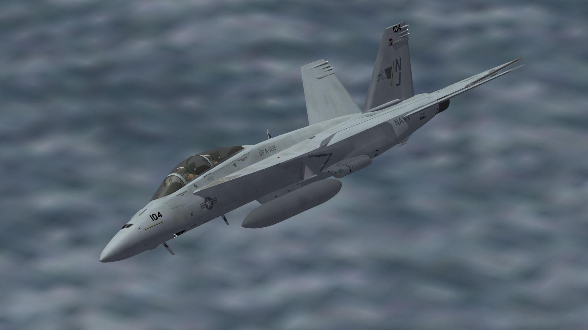 "F/A-18F VFA-122 ""Line"""