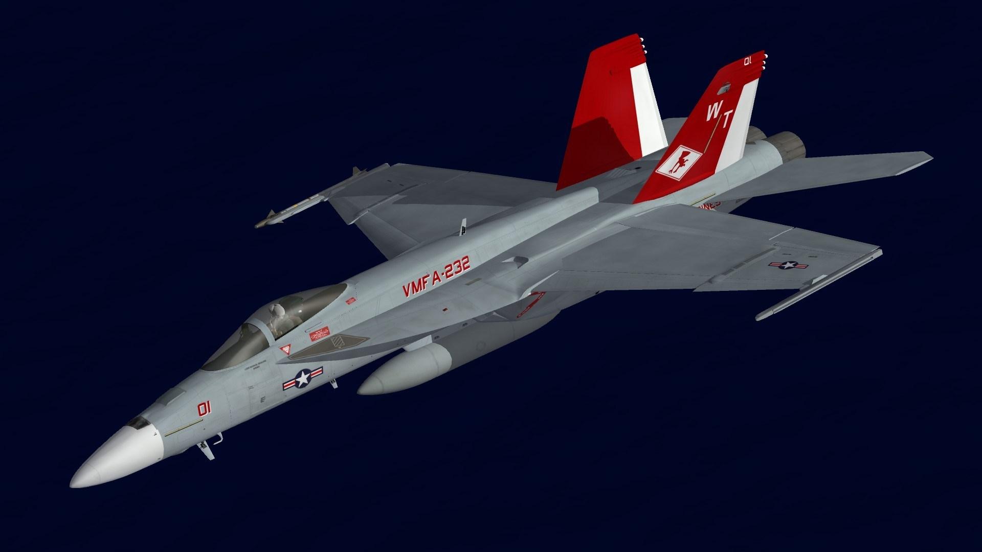 [Fictional] F/A-18E VMFA-232 CO