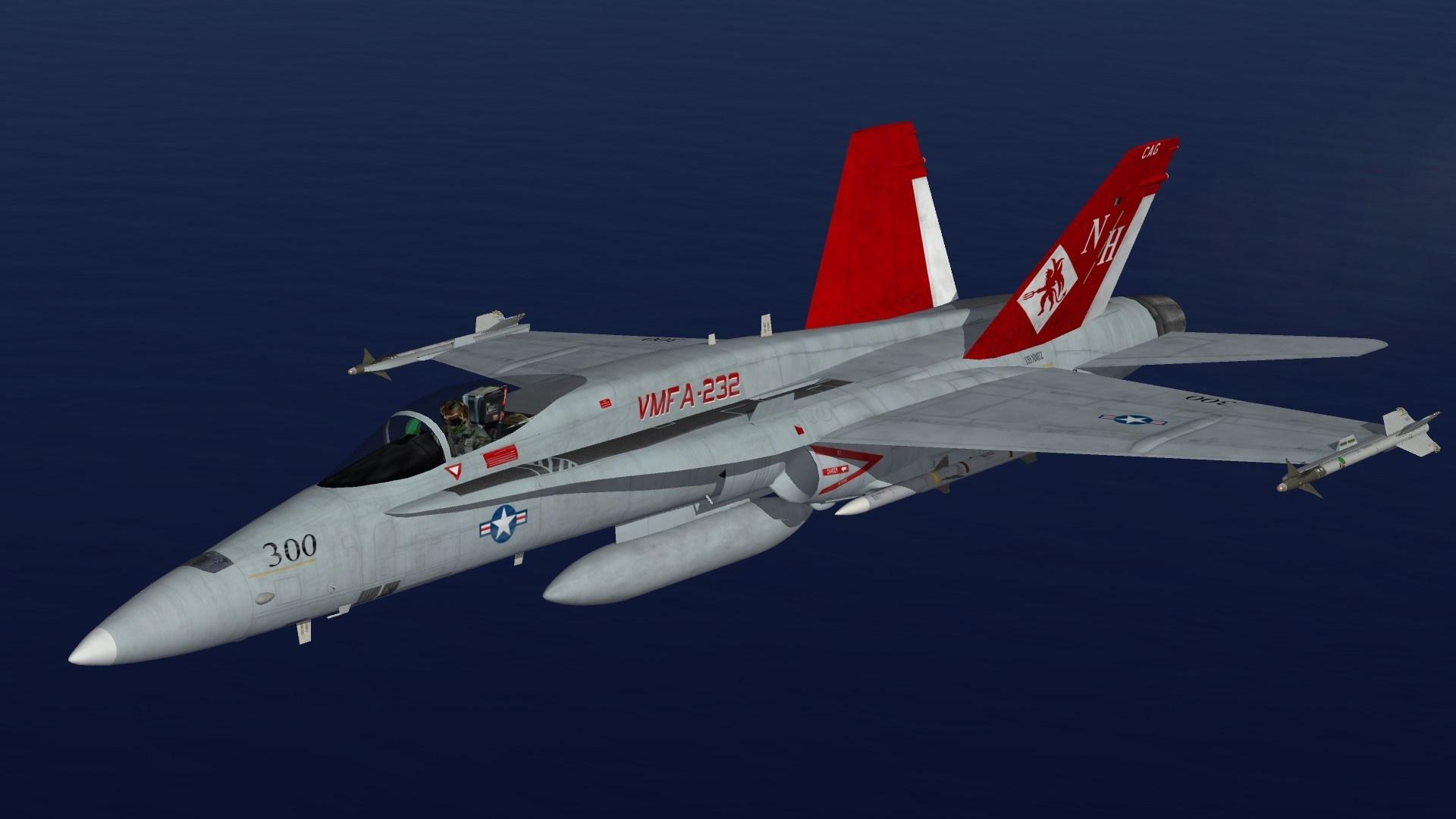 F/A-18A VMFA-232 CAG