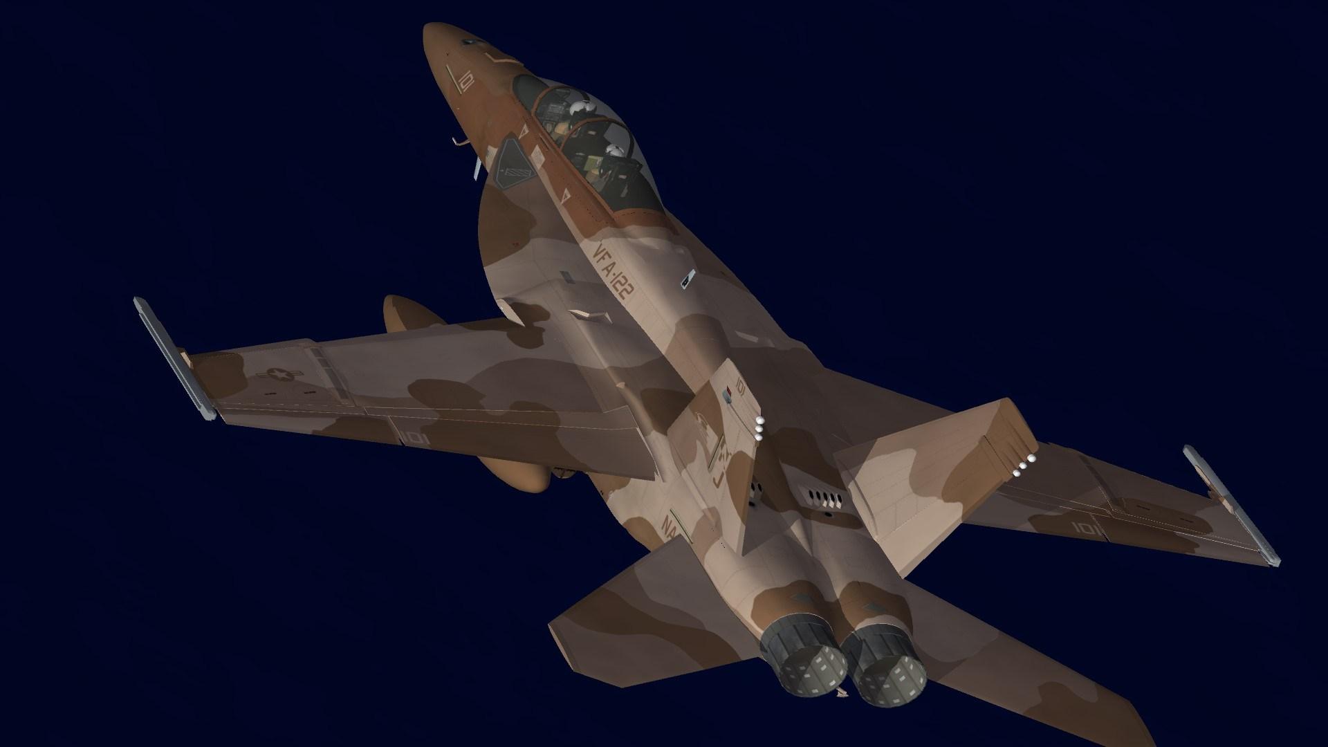 VFA-122 CO Desert scheme 2010