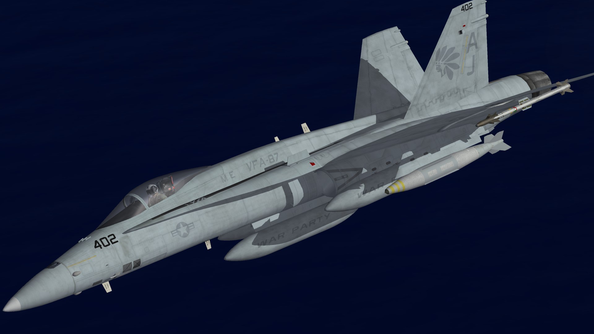 F/A-18A+ VFA-87 Line 2007