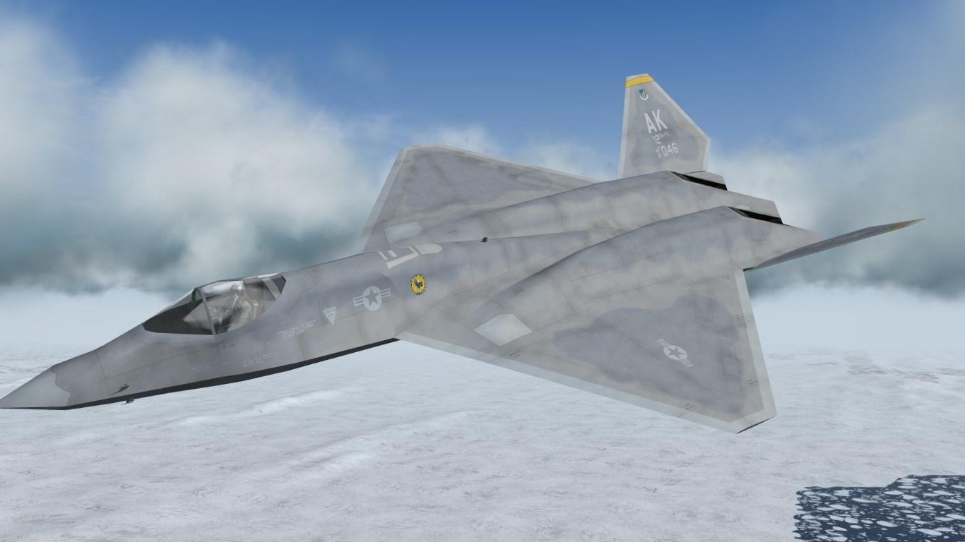 [what-if] F-23A USAF skinpack 1