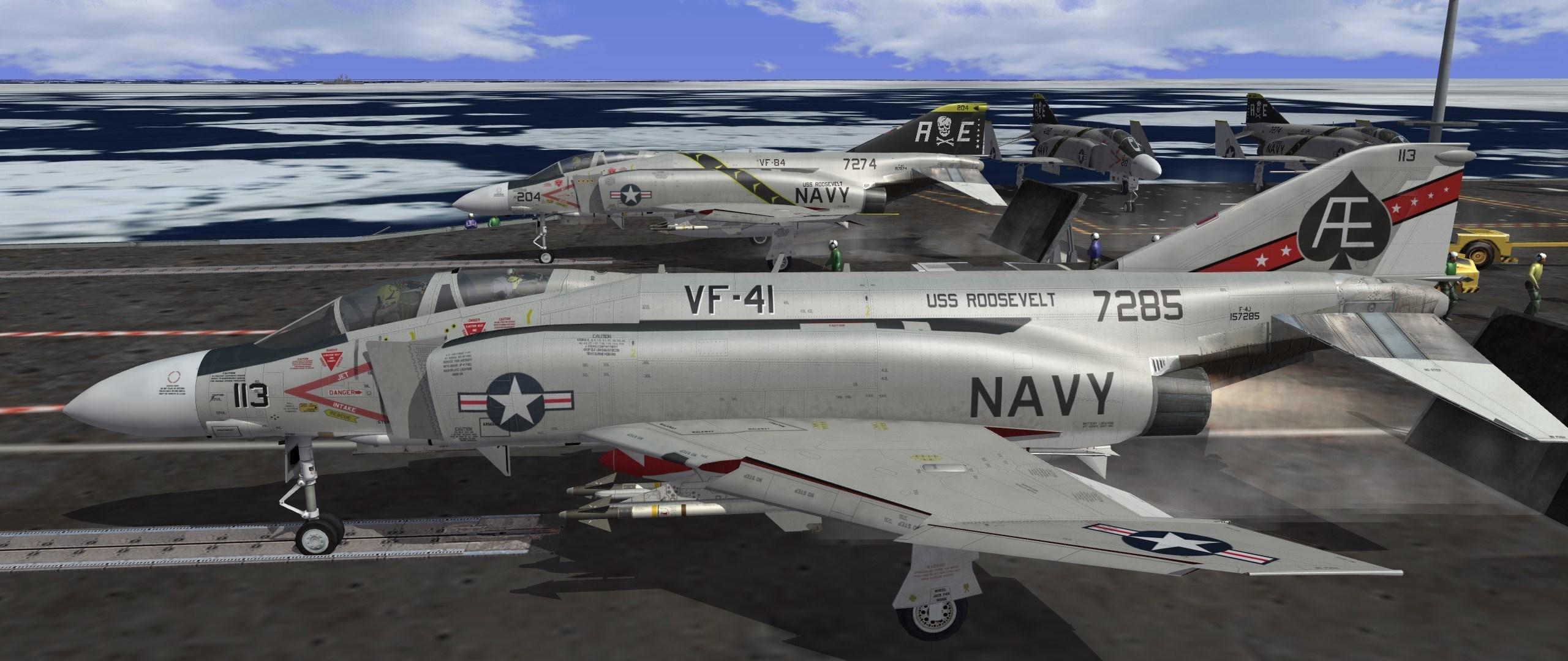 F-4J USN SkinPack 1