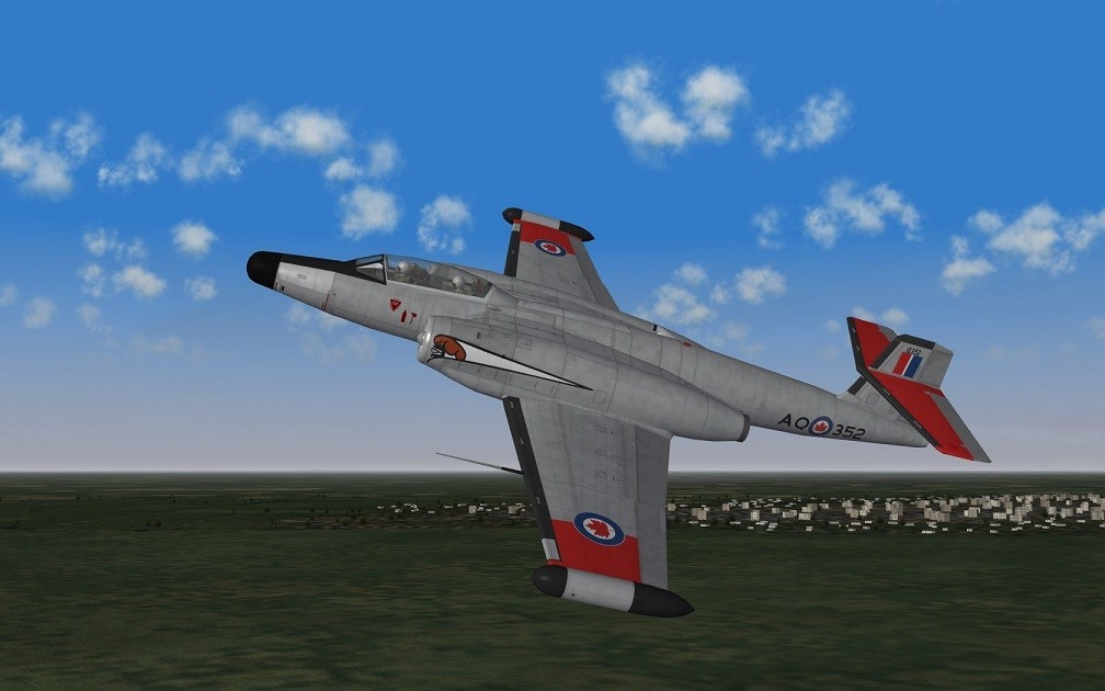 CF-100 MK-4B NORAD SKINS