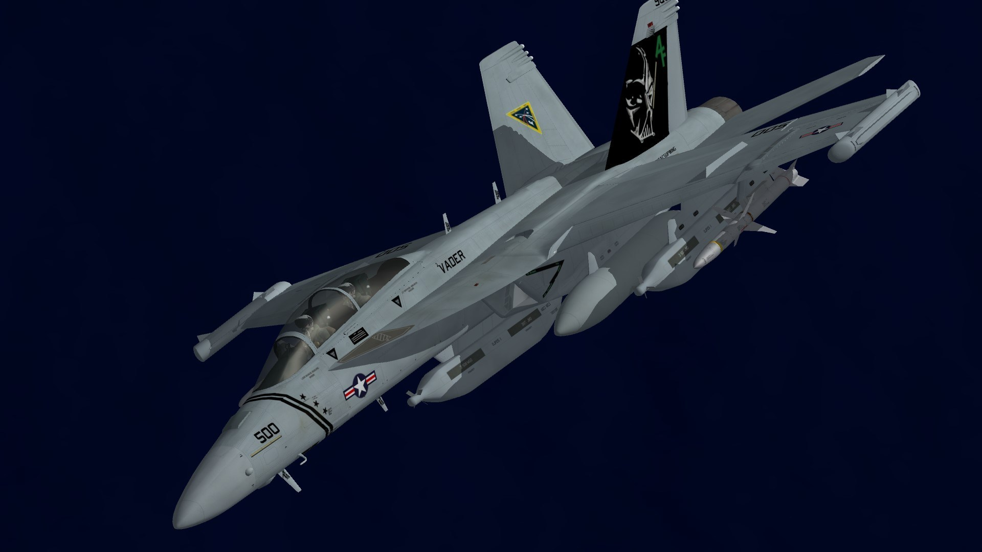 EA-18G VAQ-209 CAG Jet May 2018