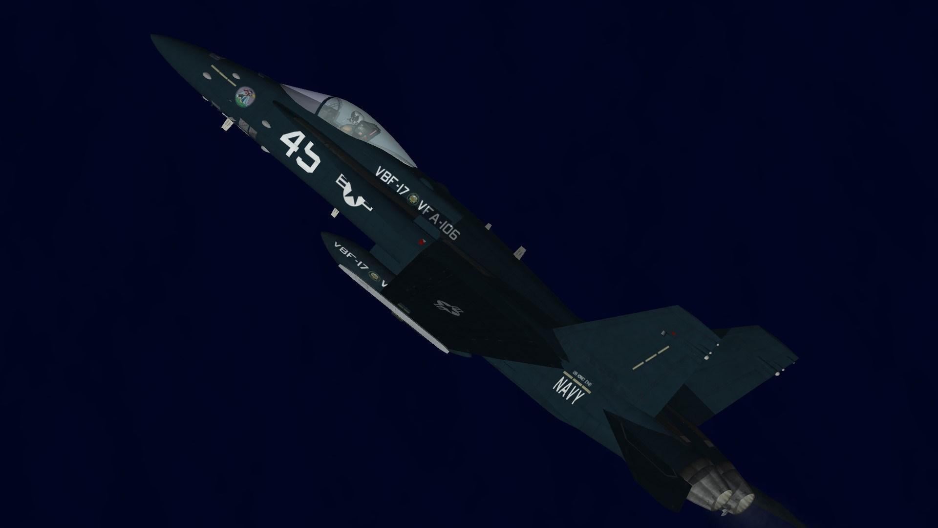 F/A-18C Centennial of Naval Aviation VFA-106
