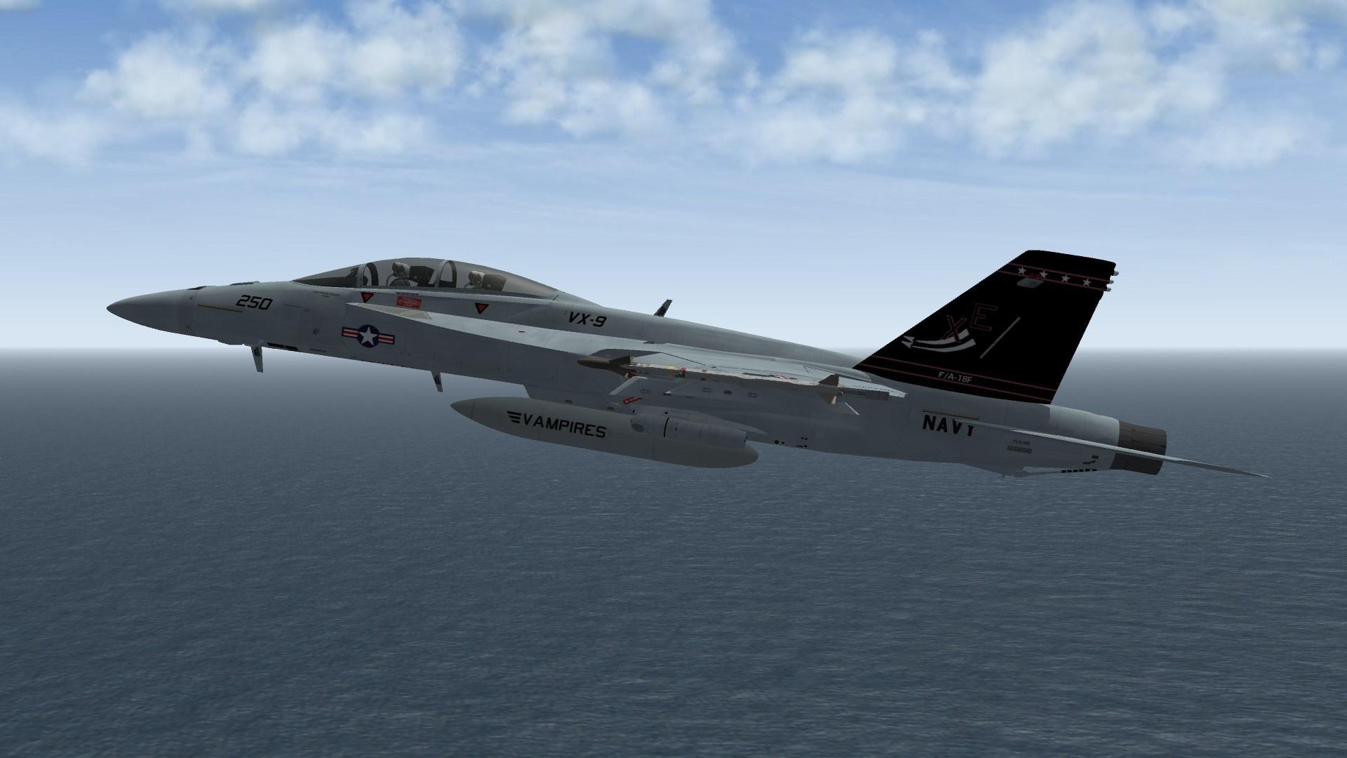 """F/A-18F VX-9 """"Centennial of Naval Aviation"""" XE250"""