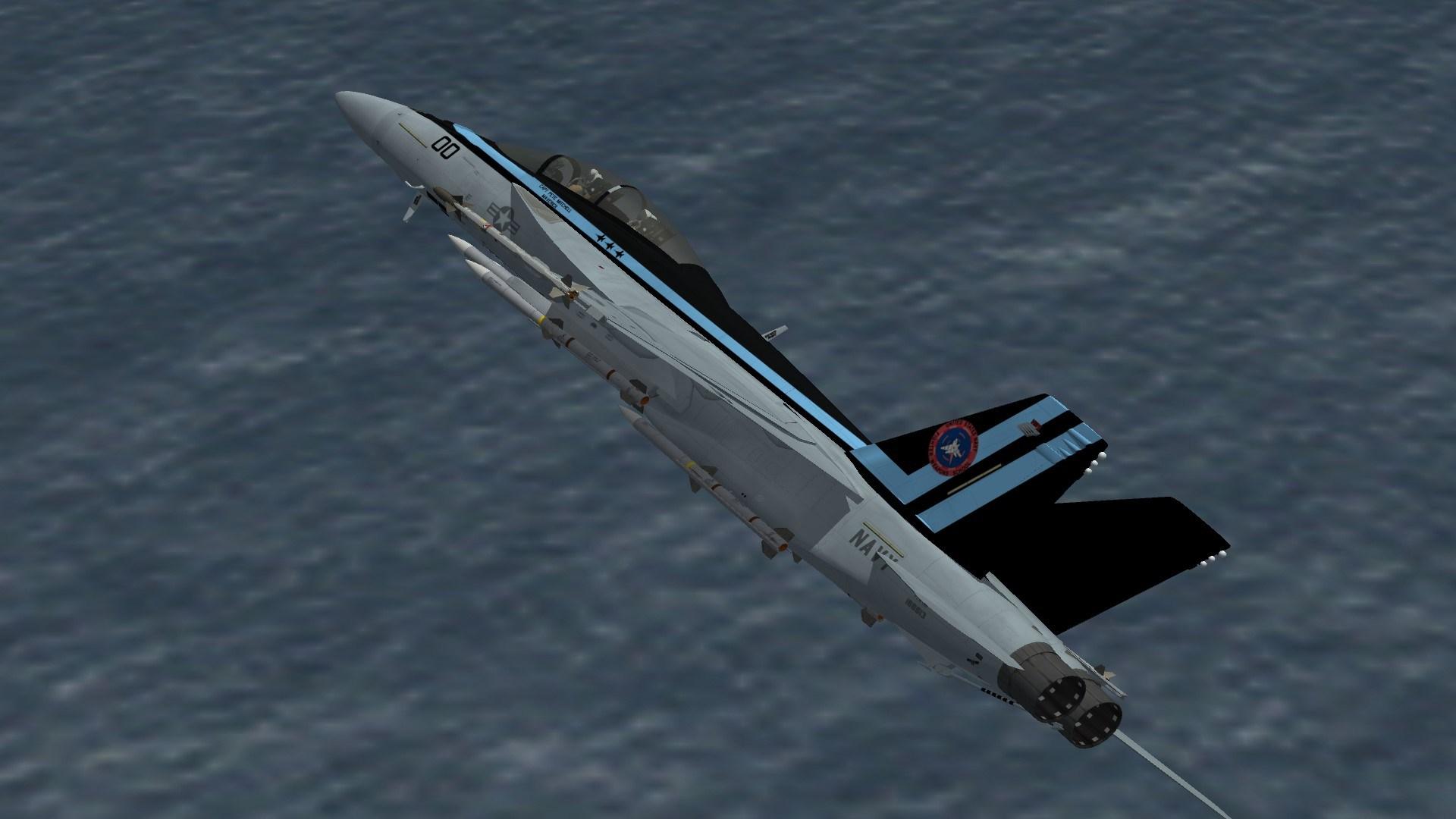 "F/A-18F ""Topgun: Maverick"" scheme"