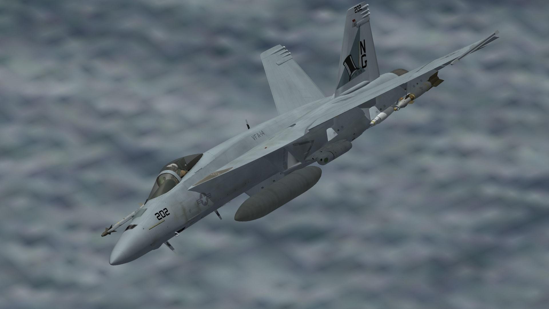 F/A-18E VFA-14 Line Bird 2019