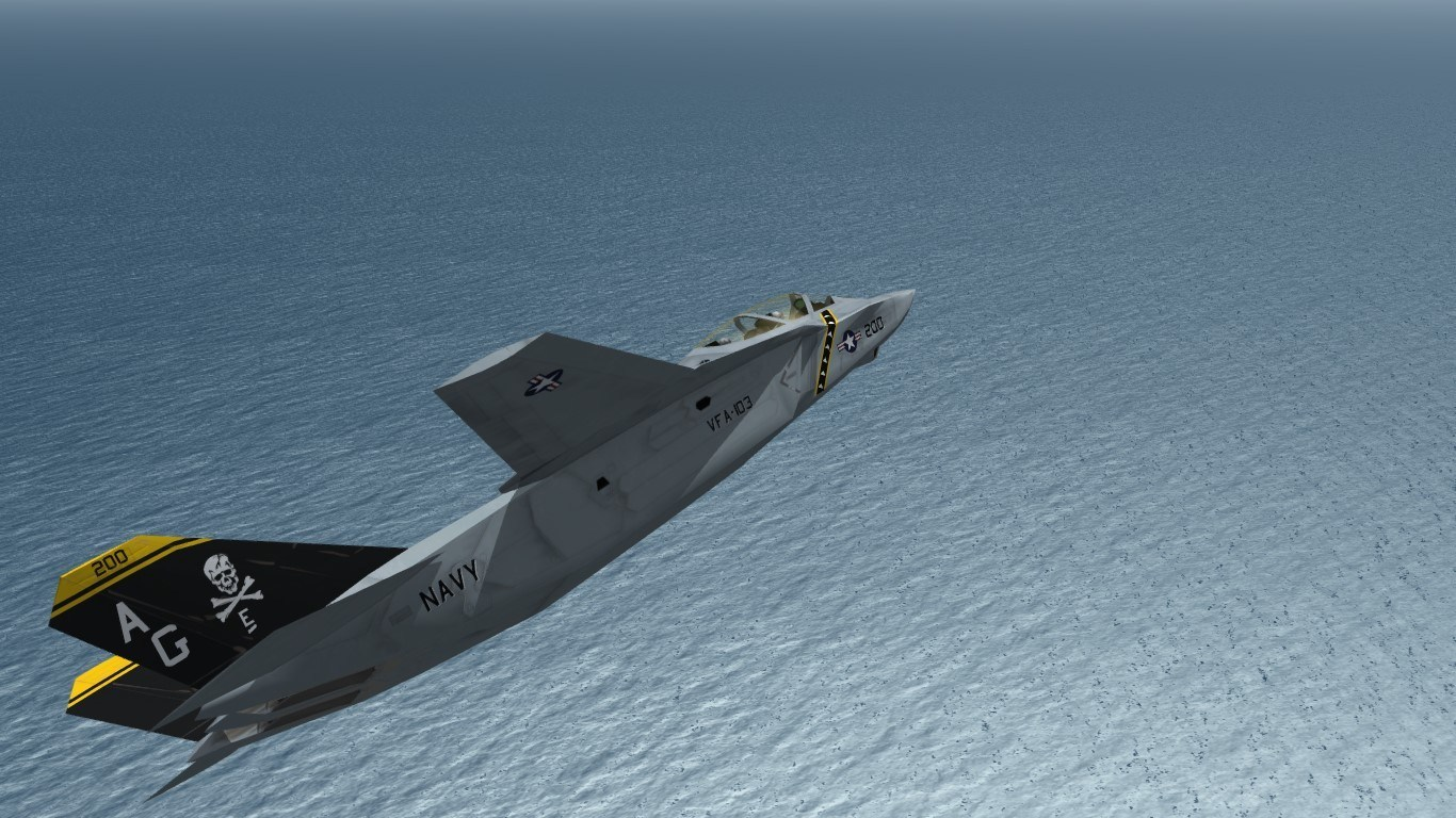 [what-if] AF-24 Shadowcat VFA-103 all-in-one skin