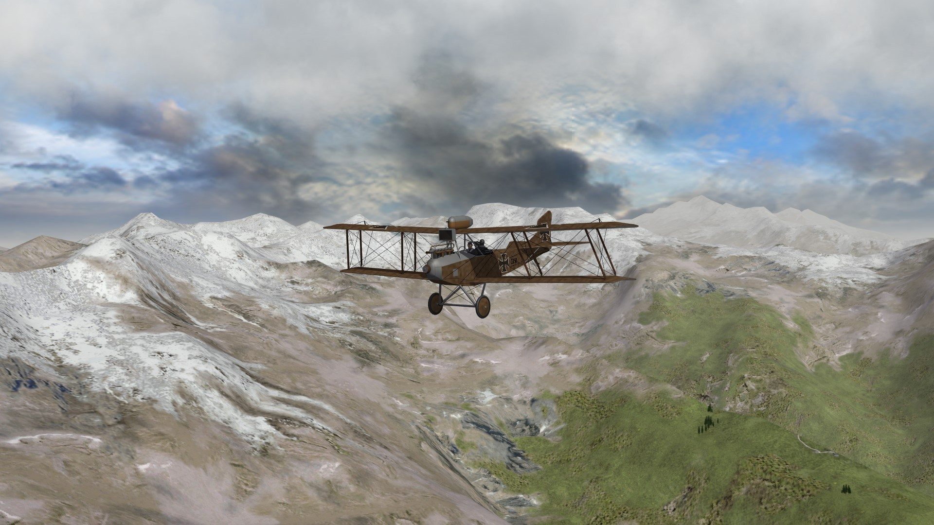 Armchair Aces over Italy