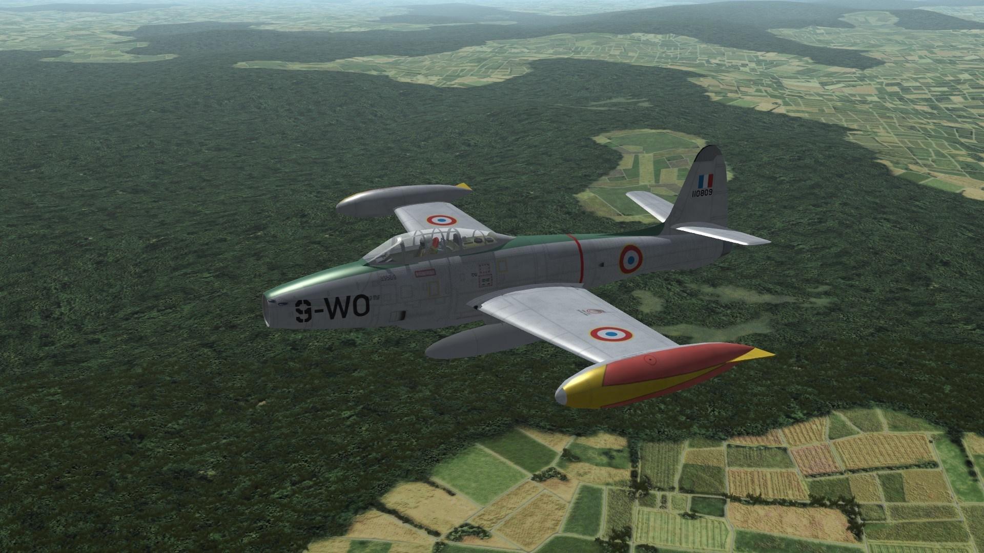 Armée de l'air F-84E/G Skinpack