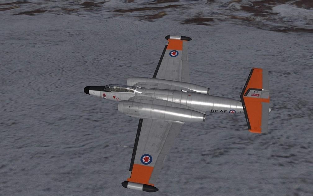 CF-100 MK-4B NORAD 1958 SKINS