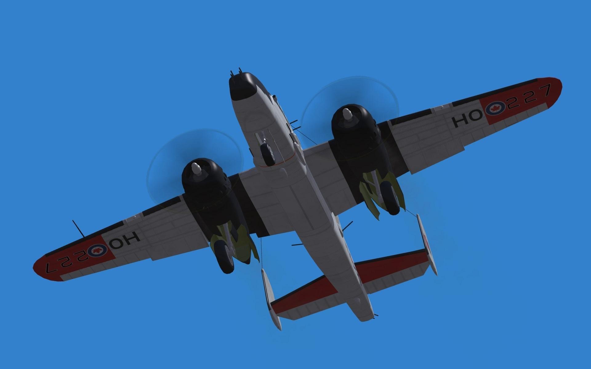 """No. 418 """"City of Edmonton"""" RCAF B-25"""