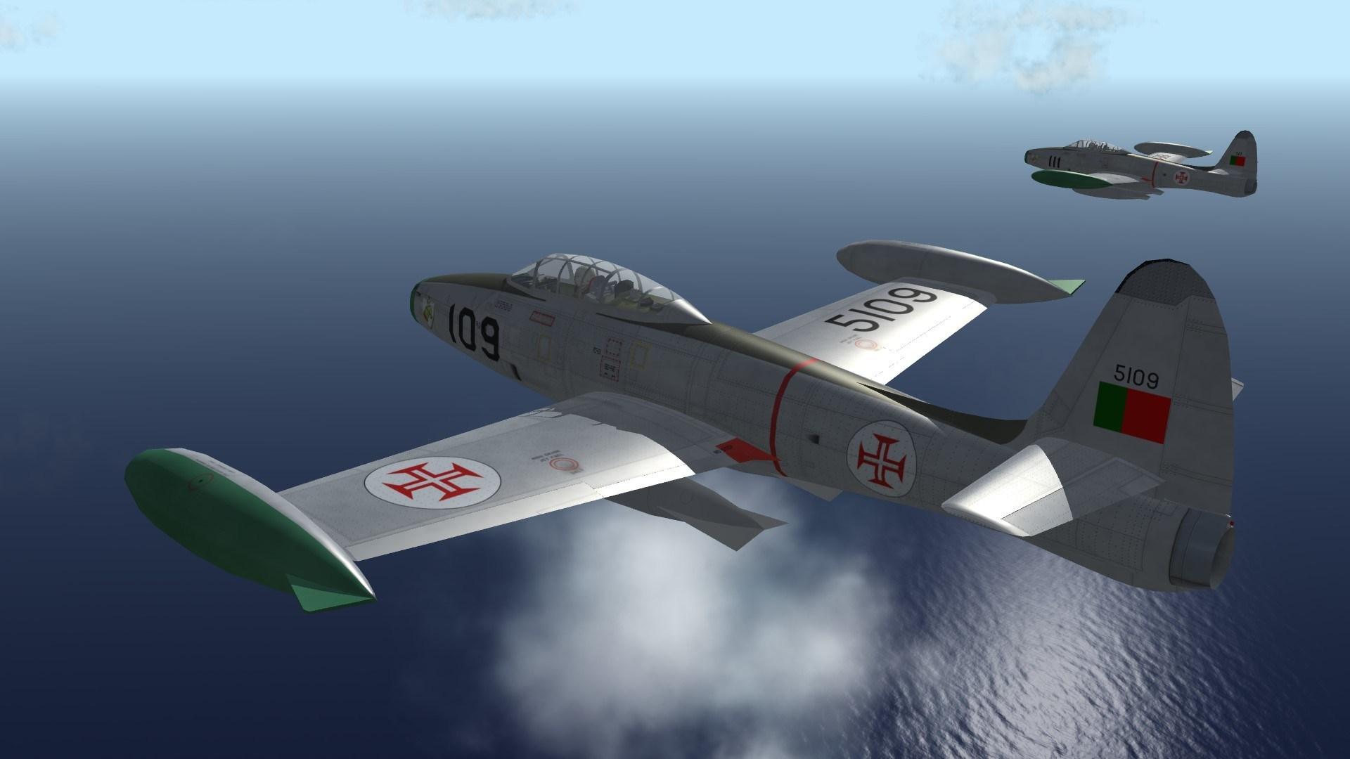 Força Aérea Portuguesa F-84G Skinpack