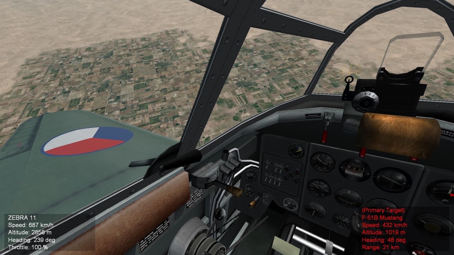 La-5FN (Avia S-95 Cockpit)