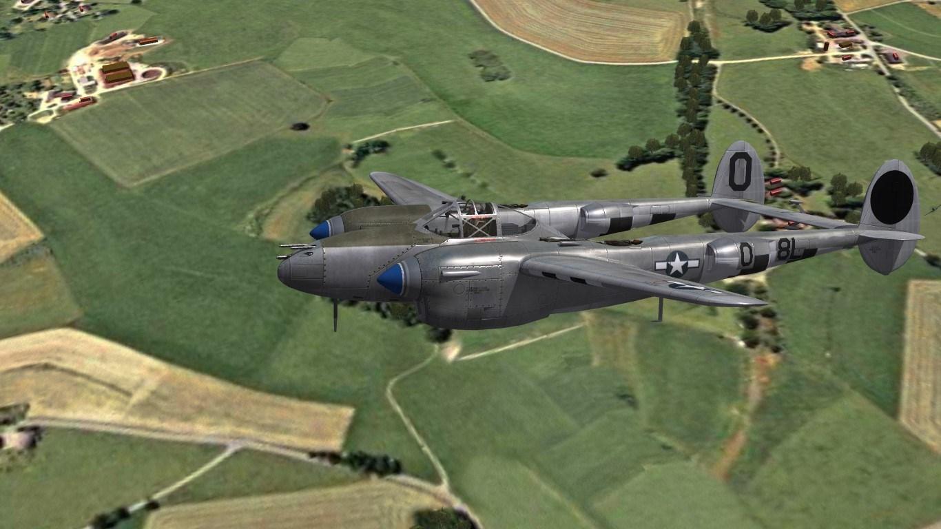 P-38J Lightning, PTO & ETO Skin Pack
